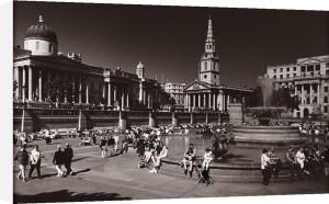 Trafalgar Square by Mirrorpix
