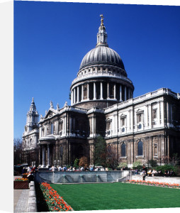 St Paul's Cathedral, London by Mirrorpix