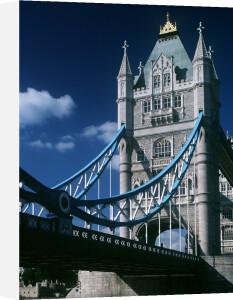 Tower Bridge, London 1980 by Mirrorpix