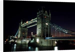 Tower Bridge London, 1980 by Mirrorpix