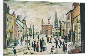 A Lancashire Village by L S Lowry