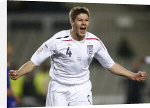 Steven Gerrard by Celebrity Image