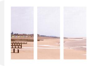 Beach Triptych by Bill Philip