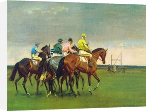 October Meeting by Sir Alfred Munnings