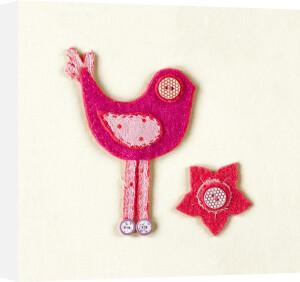 Fuzzy Bird I by Madeleine Millington