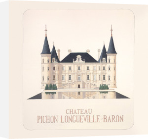 Chateau Pichon I by Andras Kaldor