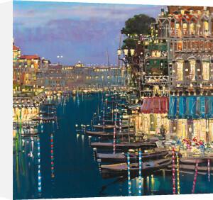 Riviera Twilight by Mario Sanzone