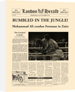 Rumbled In The Jungle! by London Herald