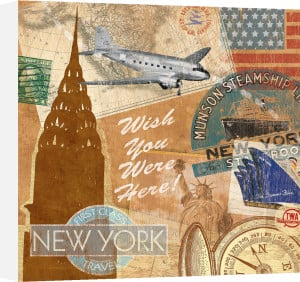 Destination, New York by Tom Frazier