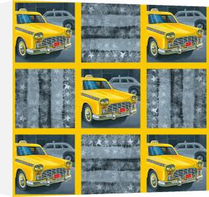 Transporter Collage I by Karen Dupré