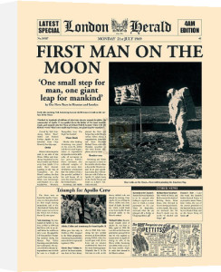 First Man On The Moon by London Herald