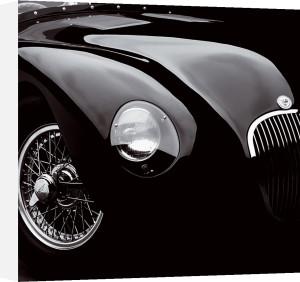 Jaguar C-Type (small) by Retro Series