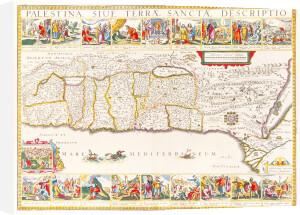 Palestina Sive Terrae Sanctae Descriptio 1630 by Jan Jansson