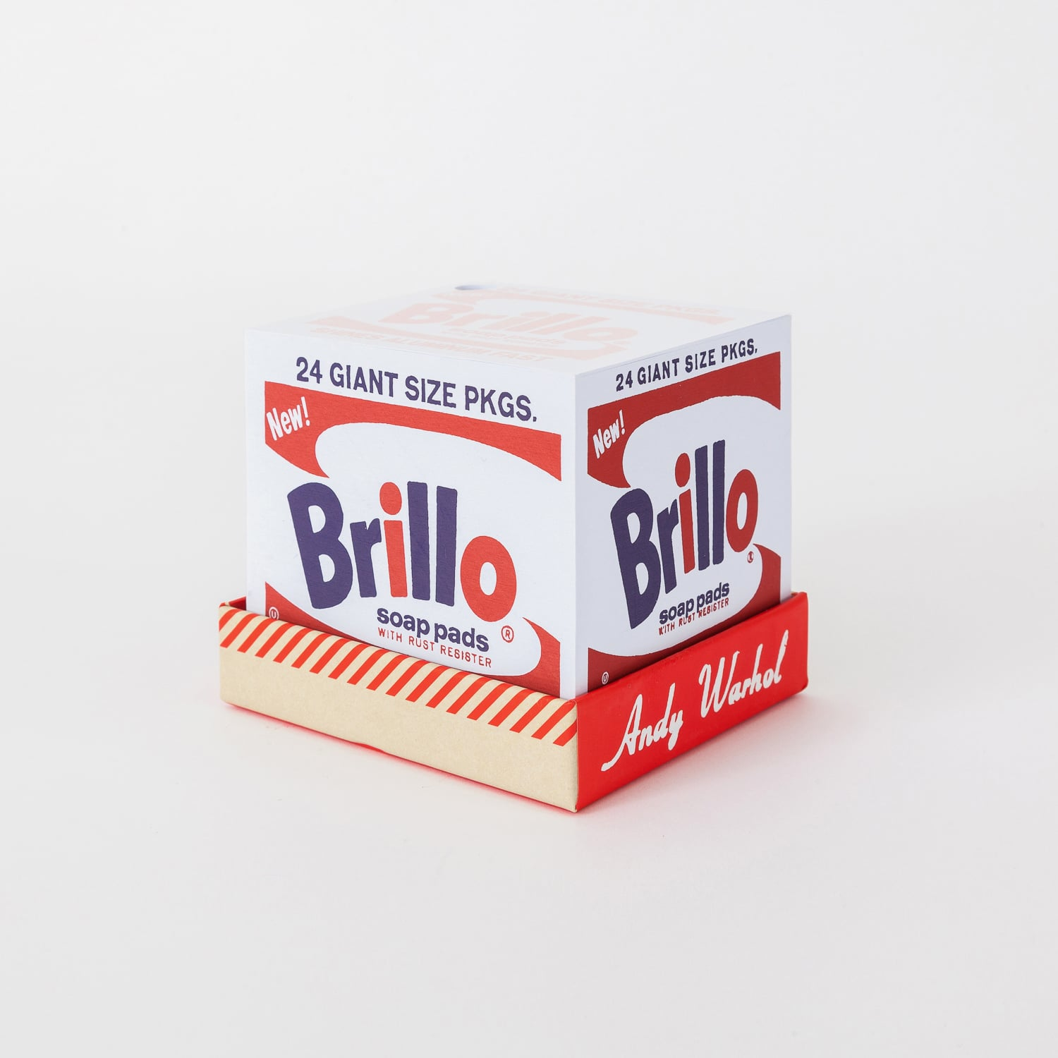 Warhol Brillo memory block