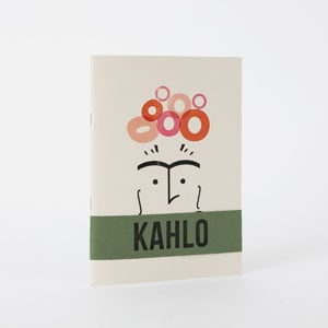 Kahlo Arty types notebook