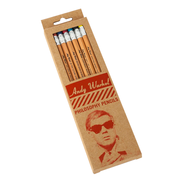 Warhol Philosophy pencils