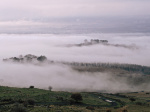 Hula Valley in Blanket of Clouds by Assaf Frank
