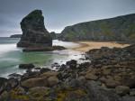 Bedruthan Steps beach Cornwall by Assaf Frank