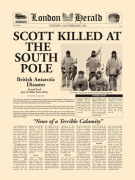Scott Killed at South Pole