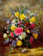 Summer Floral II by Albert Williams