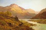 Morning, Invernesshire by Alfred de Breanski