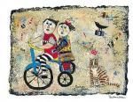 Bicycle Built for Two by Barbara Olsen