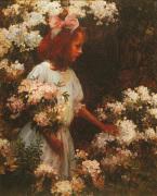 Garden Walk by Charles Courtney Curran
