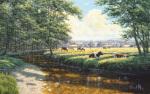 Tranquil Pasture by David Morgan