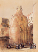Gate of the Metwaley's Cairo by David Roberts