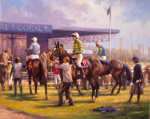In the Paddock by Graham Isom