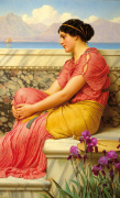 Absence Makes the Heart Grow Fonder by John William Godward
