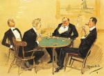 Will Dummy Go Spades by Leonard Raven-Hill