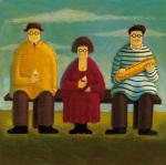 Le Dejeuner by Paul Greenwood