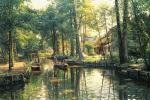Going to Market by Peder Monsted