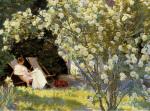 Havepartie med Marie Krøyer