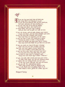 If by Rudyard Kipling