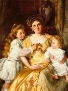 A Mother's Love by Sir Thomas Benjamin Kennington