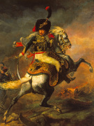 Officer of the Hussars 1814