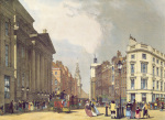 The Mansion House, Cheapside by Thomas Shotter Boys