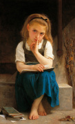 Pause for Thought by Adolphe William Bouguereau