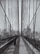 The Brooklyn Bridge Sunday pm