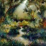 Woodland Flowers I by Giovanni