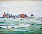 Landscapes with farm buildings 1945