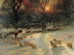 The shortening winter's day by Joseph Farquharson