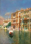 The Grand Canal, Venice by Rubens Santoro