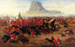 The Battle of Isandlwana by Charles Edwin Fripp