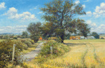 Summer Farm by Mervyn Goode