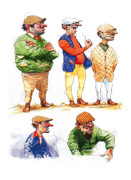 Lads by Peter Curling