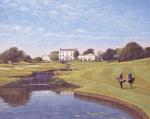 Druids Glen, 18th - Co. Wicklow by Peter Munro