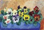 Pansies by Esther Wragg